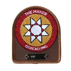 Geocaching.com Maker Madness Trackable Patch