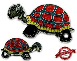 GeoTurtle Geocoin - Alexander the Guardian XLE 50