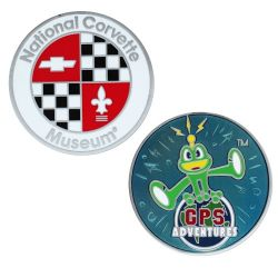 Limited GPS Adventures Maze Geocoin - Corvette