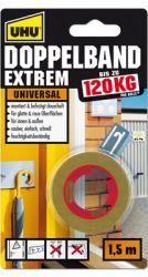 UHU Doppelband Extrem (bis zu 120 kg pro Rolle)