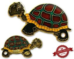 GeoTurtle Geocoin - Anna the Darling XLE 50