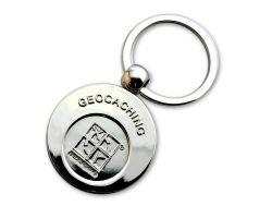 Geocaching Einkaufschip Schlüsselanhänger
