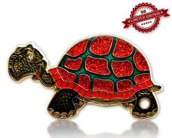 GeoTurtle Geocoin - Shiny Laura XLE 50