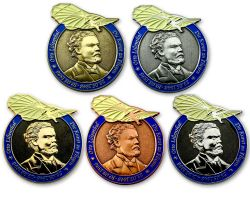 Otto Lilienthal Geocoin Collector SET (5 Coins)