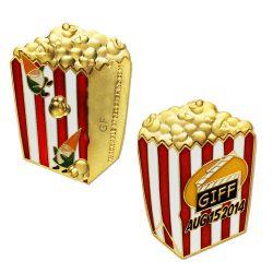 GIFF 2014 - Popcorn Geocoin (inkl. Copy Tag)
