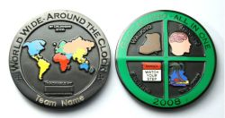 Geocaching - All In One 2008 Black Nickel -MIT GRAVUR-