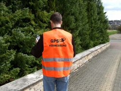 Geocaching Warnweste -orange-