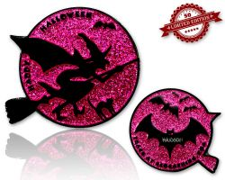 Halloween - Cynthia The Witch Glitzer Pink XLE 50