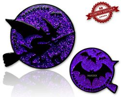 Halloween - Cynthia The Witch Glitzer Violet XLE 50