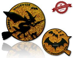 Halloween - Cynthia The Witch Glitzer Gold XLE 50