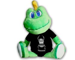 Travelbug Signal the Frog® Plush romper suiot XL (app. 67 cm)
