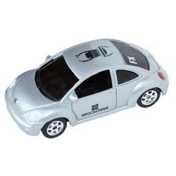 Travelbug® VW Beetle Silber