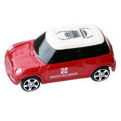 Trackable Mini Cooper - Red