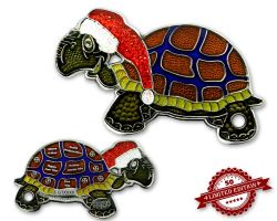 GeoTurtle Geocoin Christmas Edition - Christopherus XLE 50