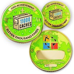 Geo Achievement Award Set 11.000 inkl. Pin