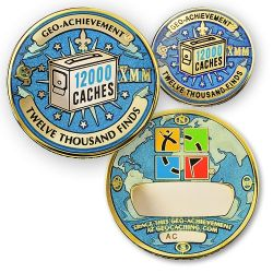 Geo Achievement Award Set 12.000 inkl. Pin