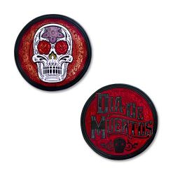 Day Of The Dead - Red/Black Nickel