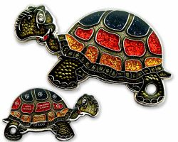 GeoTurtle Geocoin - Volksturtle Mr. Germany