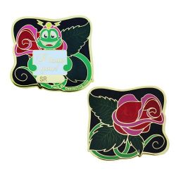Signal the Frog® Rose Geocoin Poliertes Gold