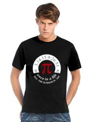 Geocaching T-Shirt | Pi-Day schwarz (optional mit Teamname)