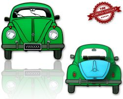Bug Geocoin Green/Glow LE 100