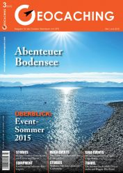 Geocaching Magazin 03/2015 Mai/Juni
