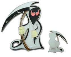 The Grim Reaper Geocoin - Yama Edition