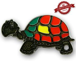 GeoTurtle Nation Geocoin - Mr. Portugal XLE 50
