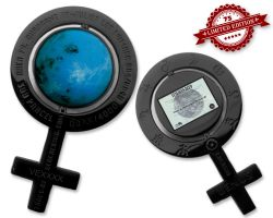 Caching on the Venus Geocoin Black Nickel XLE 75 (incl. Venus La