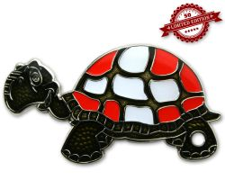 GeoTurtle Nation Geocoin - Mr. Switzerland XLE 50