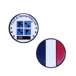 Country Micro Geocoin - France