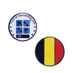 L?nder Micro Geocoin - Belgien