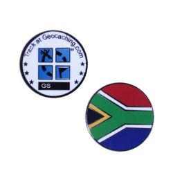 Country Micro Geocoin - South Africa
