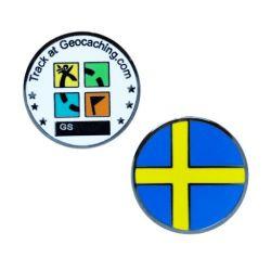 L?nder Micro Geocoin - Schweden