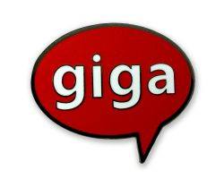 Geocaching Pin - Giga Event