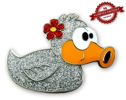 Beauty Duck Geocoin - Heidi XLE 75
