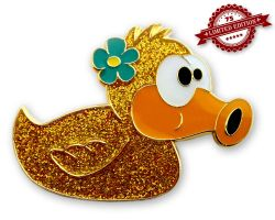 Beauty Duck Geocoin - Theresa XLE 75