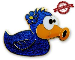 Beauty Duck Geocoin - Tina XLE 75
