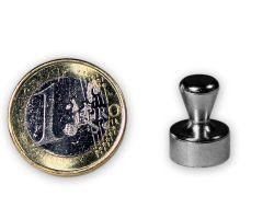 5 St?ck Kleiner Kegelmagnet aus Stahl ? 12,0 x 16,0 mm - h?lt 4,