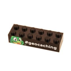 Signal the Frog LEGO ™ Brick trackable (different colors)