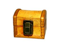 Mini Geocaching Treasure Chest