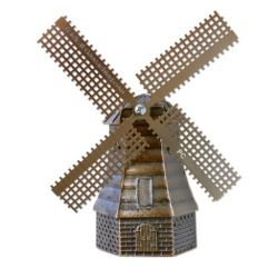 Dutch Windmill - Windmühlen Geocoin XXL 3D Modell LE