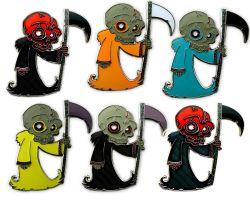 The Grim Reaper Skull - Sammler SET (6 COINS)