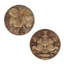Greek Gods Geocoin - Rhea