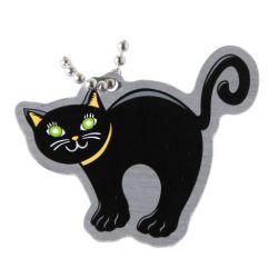 Halloween Travel Tag - Black Cat