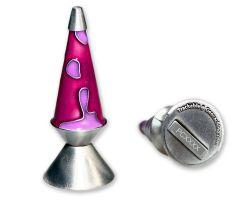 Mega Lava Lampe Geocoin XXL - Lila