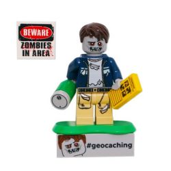 Geocaching Zombie Cache Hunter LEGO - trackbar