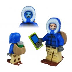 Geocaching Winter T5 Cache Hunter LEGO - trackbar