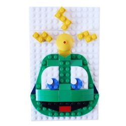 Deluxe Signal the Frog? LEGO Set