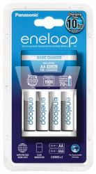 Eneloop Charger incl. 4 x AA battery